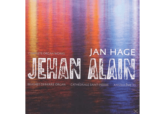 Jan Hage - Alain Orgelwerke Kpl. - (CD)
