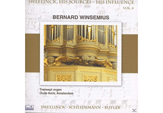 Bernard Winsemius - Sweelinck, His Sources - His Influence - (CD)