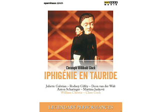 VARIOUS, Orchestra La Scintilla of the Zurich Opera House, Chorus, Ballet School And Supernumerary Association Of The Zurich Opera House - Iphigenie En Tauride [DVD]