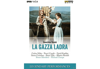 VARIOUS, Gürzenich Orchestra Of Cologne, Chorus Of The Cologne Opera - La Gazza Ladra - (DVD)