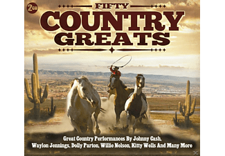 VARIOUS - Fifty Country Greats [CD]