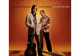 Jackson Browne, David Lindley - Love Is Strange - En Vivo Con Tino (CD)