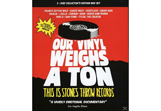 Stones Throw Records Presents - Our Vinyl Weighs A Ton - (Blu-ray + CD)