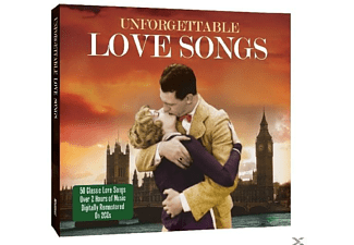 VARIOUS - Unforgettable Love Songs - (CD)