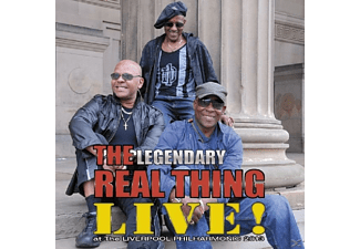 The Real Thing - Live At The Liverpool Philharmonic - (CD)