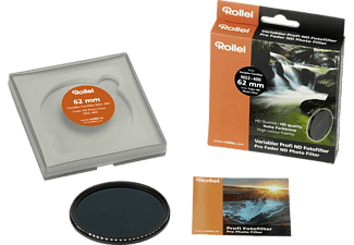 ROLLEI Variabler Profi ND Fotofilter ND2– 400, Filter, 62 mm