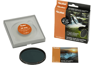 ROLLEI ND Fotofilter ND2– 2000, Filter, 58 mm
