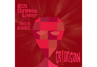 Delta Saxophone Quartet - Crimson - (CD)