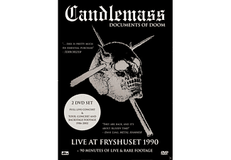 Candlemass - Documents Of Doom - (DVD)