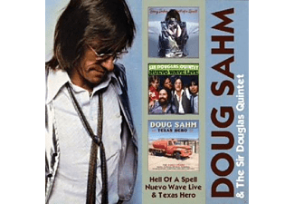 Doug / Sir Douglas Quintet Sahm - Hell Of A Spell / Nuevo Wave Live / Texas Hero (2cd) - (CD)