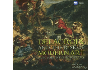 VARIOUS - Delacroix And The Rise Of Music & Art - (CD)