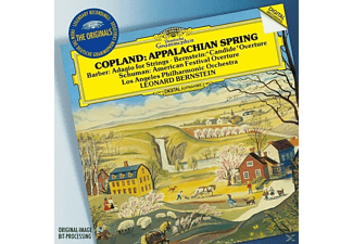 Los Angeles Philharmonic - Appalachian Spring/Adagio/Candide Ouvertüre [CD]