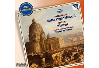 The Choir Of Westminster Abbey, Preston Simon - Missa Papae Marcelli/Tu Es Petrus/Miserere [CD]