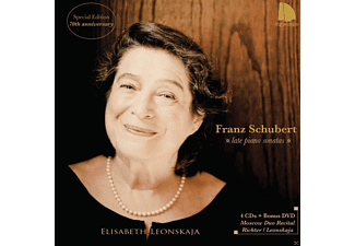 Elisabeth Leonskaja - Schubert: Late Piano Sonatas [CD + DVD Video]