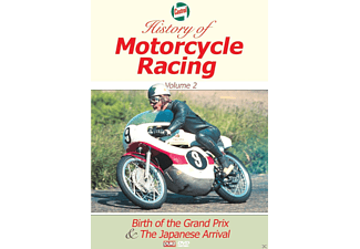 History Of Motorcycle Racing Vol.2 - (DVD)