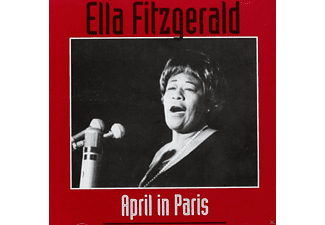 Ella Fitzgerald - April In Paris - (CD)