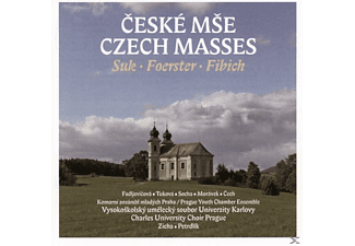 Marta Fadljevicova, Jana Tukova, Ondrej Socha, Jan Moravek, Petr Cech, Vladimir Jelinek, Charles University Choir Prague, Prague Youth Chamber Ensemble - Czech Masses - (CD)