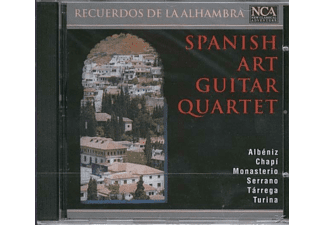 Spanish Art Guitar Quartet - Recuerdos De La Alhambra - (CD)
