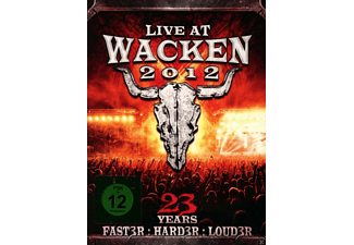 VARIOUS - Live At Wacken 2012-23 Years(Faster:Harder:Louder) [DVD]