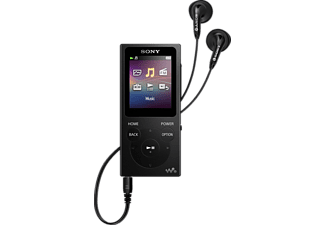 SONY NWE394 MP3 Player (8 GB, Schwarz)