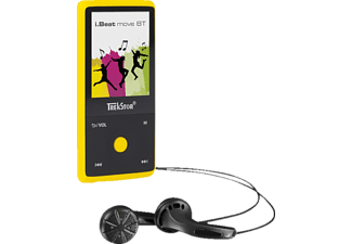 TREKSTOR i.Beat move BT MP3 Player (8 GB, Gelb)