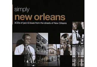 VARIOUS - Simply New Orleans (3cd Tin) - (CD)