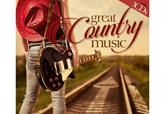 VARIOUS - Great Country Music - (CD)
