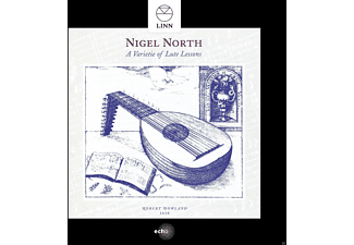 Nigel North - A Varietie Of Lute Lessons - (CD)
