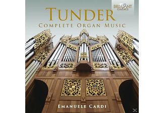 Emanuele Cardi - Complete Organ Music - (CD)