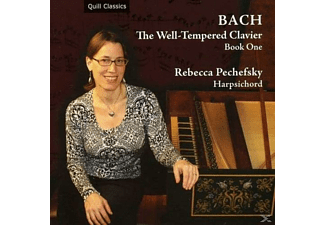 Rebecca Pechefsky - Bach The Well-Tempered Clavier Book One - (CD)
