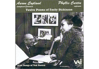 Phyllis Curtin, Ned Rorem - Songs Of Copland & Rorem [CD]