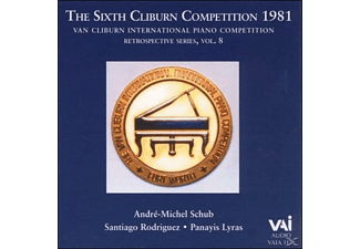 Van Cliburn, Andre-Michel Schub, Santiago Rodriguez - The Sixth Cliburn Competition 1981 [CD]