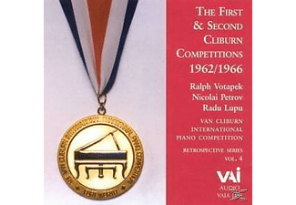 Nikolai Petrov, Radu Lupu, Ralph Votapek - The First & Second Cliburn Competition 1 [CD]