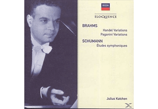 Julius Katchen - Brahms: Variations And Fugue On A Theme By Handel - (CD)