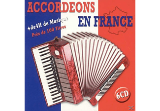 VARIOUS - Accordeons En France (6cd) - (CD)