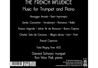 Gerard Schwarz, Kun Woo Paik, Various - The French Influence. Music For Trumpet And Piano - (CD)