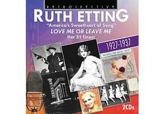 VARIOUS, Ruth Etting - Love Me Or Leave Me [CD]