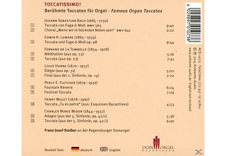 Stoiber Franz Josef - Toccatissimo! [CD]