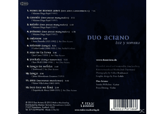 Duo Aciano - Luz Y Sombra [CD]