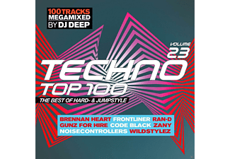 Dj Deep, VARIOUS - Techno Top 100 Vol.23 The Best Of Hard-And Jumpst - (CD)
