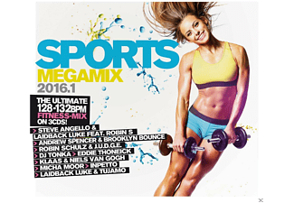 VARIOUS - Sports Megamix 2016.1 - (CD)