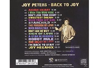 Joy Peters - Back To Joy - (CD)