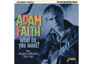Adam Faith - What Do You Want? (The Singles Collection 1958-1962) - (CD)