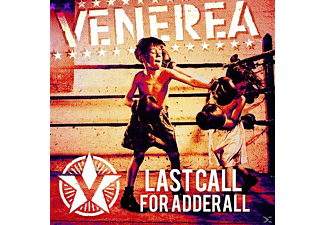 Venerea - Last Call For Adderall [CD]