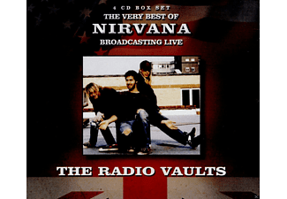 Nirvana - Radio Vaults-Best Of Nirvana Broadcasting Live - (CD)