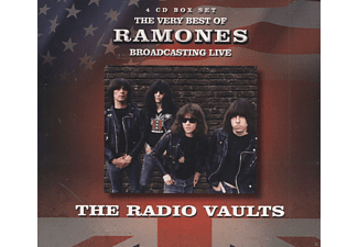 Ramones - Radio Vaults-Best Of The Ramones Broadcast.Live - (CD)