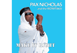 Pax Nicholas And The Ridimtaksi - Make It Right - (CD)