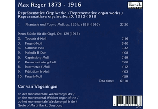 Cor Van Wageningen - Repräsentative Orgelwerke Vol.5 - (CD)