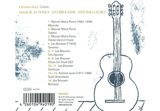 Various - Lateinamerikanische Gitarrenmusik - (CD)