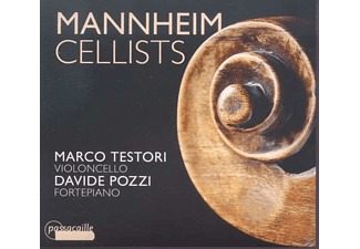 Marco Testori, Davide Pozzi - Mannheim Cellists [CD]